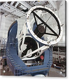 3.5-metre Optical Telescope Acrylic Print by Eckhard Slawik