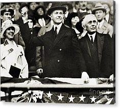 Calvin Coolidge (1872-1933) Acrylic Print by Granger
