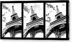 Eiffel Tower Acrylic Print by Elena Elisseeva