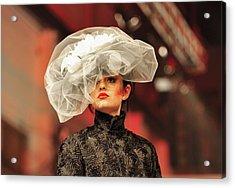 Fat Fashion Art Toronto Acrylic Print by Andrea Kollo