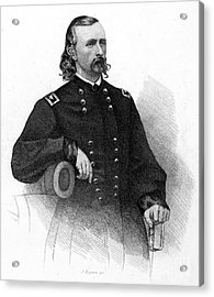 George Custer (1839-1876) Acrylic Print by Granger