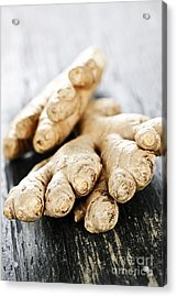 Ginger Root Acrylic Print by Elena Elisseeva