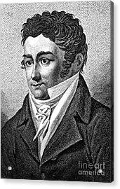 J�ns Jacob Berzelius, Father Of Swedish Acrylic Print by Science Source