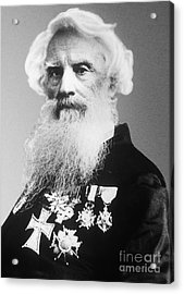 Samuel Morse, American Inventor Acrylic Print by Science Source