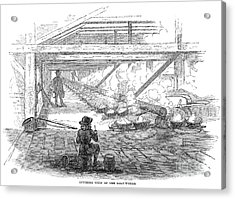 Slave Labor, 1857 Acrylic Print by Granger