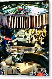 454 Horsepower Acrylic Print by Colleen Kammerer