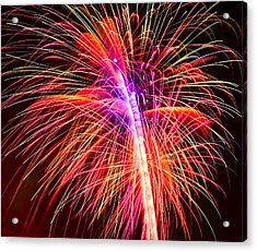 4th Of July - Independence Day Fireworks Acrylic Print by Gordon Dean II