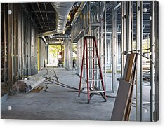 A Commercial Building Acrylic Print by Don Mason