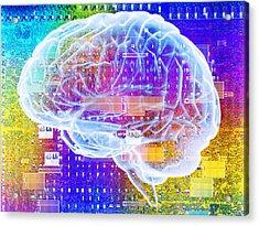 Artificial Intelligence Acrylic Print by Pasieka