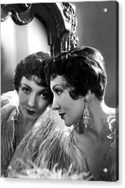 Claudette Colbert, Paramount Pictures Acrylic Print by Everett