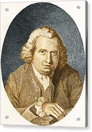 Erasmus Darwin, English Polymath Acrylic Print by Science Source