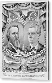 Presidential Campaign, 1876 Acrylic Print by Granger