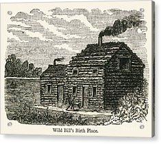 Wild Bill Hickok (1837-1876) Acrylic Print by Granger