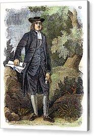 William Penn (1644-1718) Acrylic Print by Granger