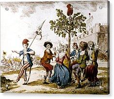 French Revolution, 1792 Acrylic Print by Granger