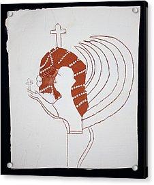 Guardian Angel Acrylic Print by Gloria Ssali