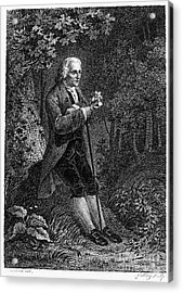Jean Jacques Rousseau Acrylic Print by Granger