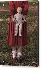 Old Doll Acrylic Print by Joana Kruse