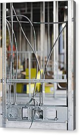 Commercial Building Under Construction Acrylic Print by Don Mason