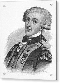 Marquis De Lafayette Acrylic Print by Granger