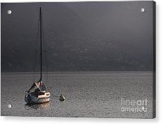 Sailing Boat Acrylic Print by Mats Silvan