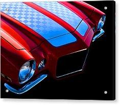 '71 Camaro Acrylic Print by Douglas Pittman