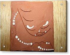 Mama - Tile Acrylic Print by Gloria Ssali