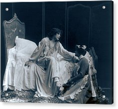 Sarah Bernhardt 1844-1923, French Acrylic Print by Everett