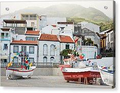 Vila Franca Do Campo Acrylic Print by Gaspar Avila