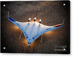 X48b Blended Wing Body Acrylic Print by Nasa