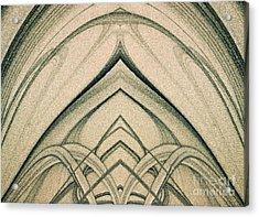 The Magic Background Acrylic Print by Odon Czintos