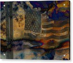 9-11 In Memory  Acrylic Print by Lenore Senior