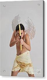 Cupid The God Of Desire Acrylic Print by Ilan Rosen