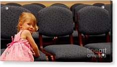 A Chair For Me Acrylic Print by Steven Milner