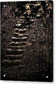 A Few More Steps Acrylic Print by Odd Jeppesen