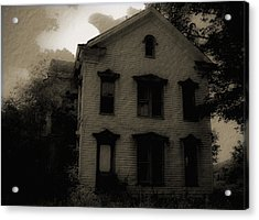 A Haunting Acrylic Print by DigiArt Diaries by Vicky B Fuller