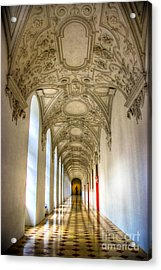 A Long Way Acrylic Print by Syed Aqueel