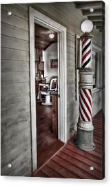 A Look Into The Past Acrylic Print by Susan Candelario