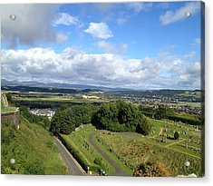 A Stirling View Acrylic Print by Michael McKenzie