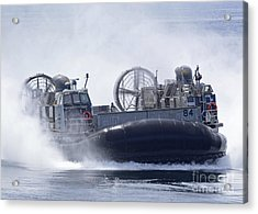 A U.s. Marine Corps Landing Craft Air Acrylic Print by Stocktrek Images