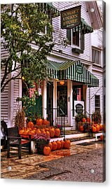A Vermont Classic - Dorset Union Country Store Acrylic Print by Thomas Schoeller