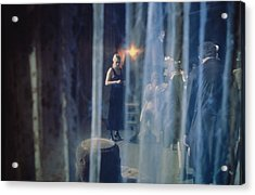 A View A Theatrical Performance Acrylic Print by Cotton Coulson