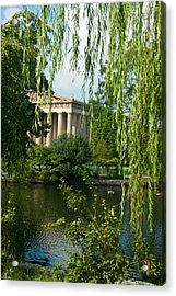 A View Of The Parthenon 7 Acrylic Print by Douglas Barnett