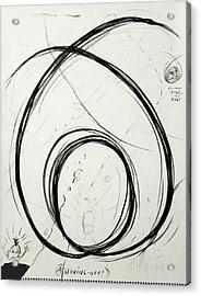 A Waving Off Acrylic Print by Michael Morgan
