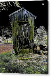 Abandoned Acrylic Print by Cindy Roesinger