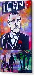 Abbott Kinney Acrylic Print by Tony B Conscious