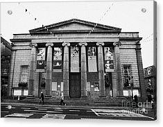 Aberdeen Music Hall Formerly The Citys Assembly Rooms Union Street Scotland Uk Acrylic Print by Joe Fox