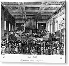 Abolition Convention, 1840 Acrylic Print by Granger