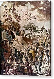 Abolition Of Slavery, 1794 Acrylic Print by Granger