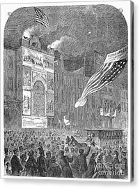 Abolition Of Slavery, 1864 Acrylic Print by Granger